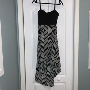 Guess Los Angeles high low dress size 10